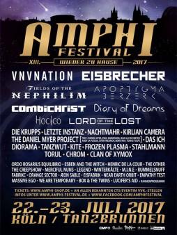 Poster of Amphi Festival 2017