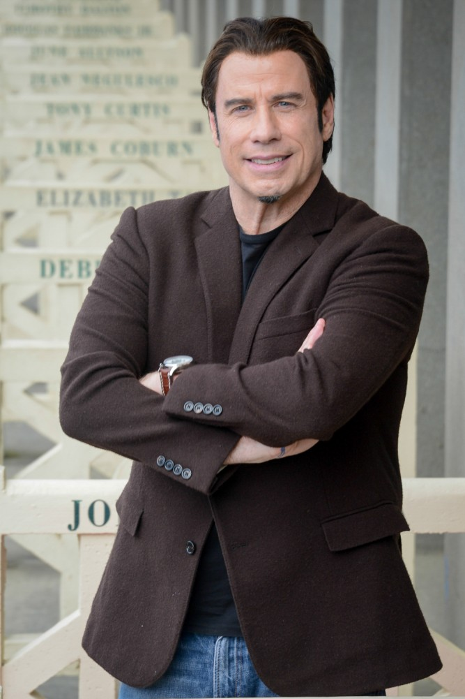 John Travolta by Julien Reynaud