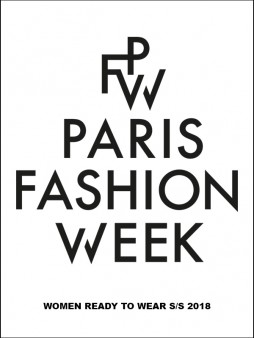Paris Fashion Week PFW SS 18 Poster